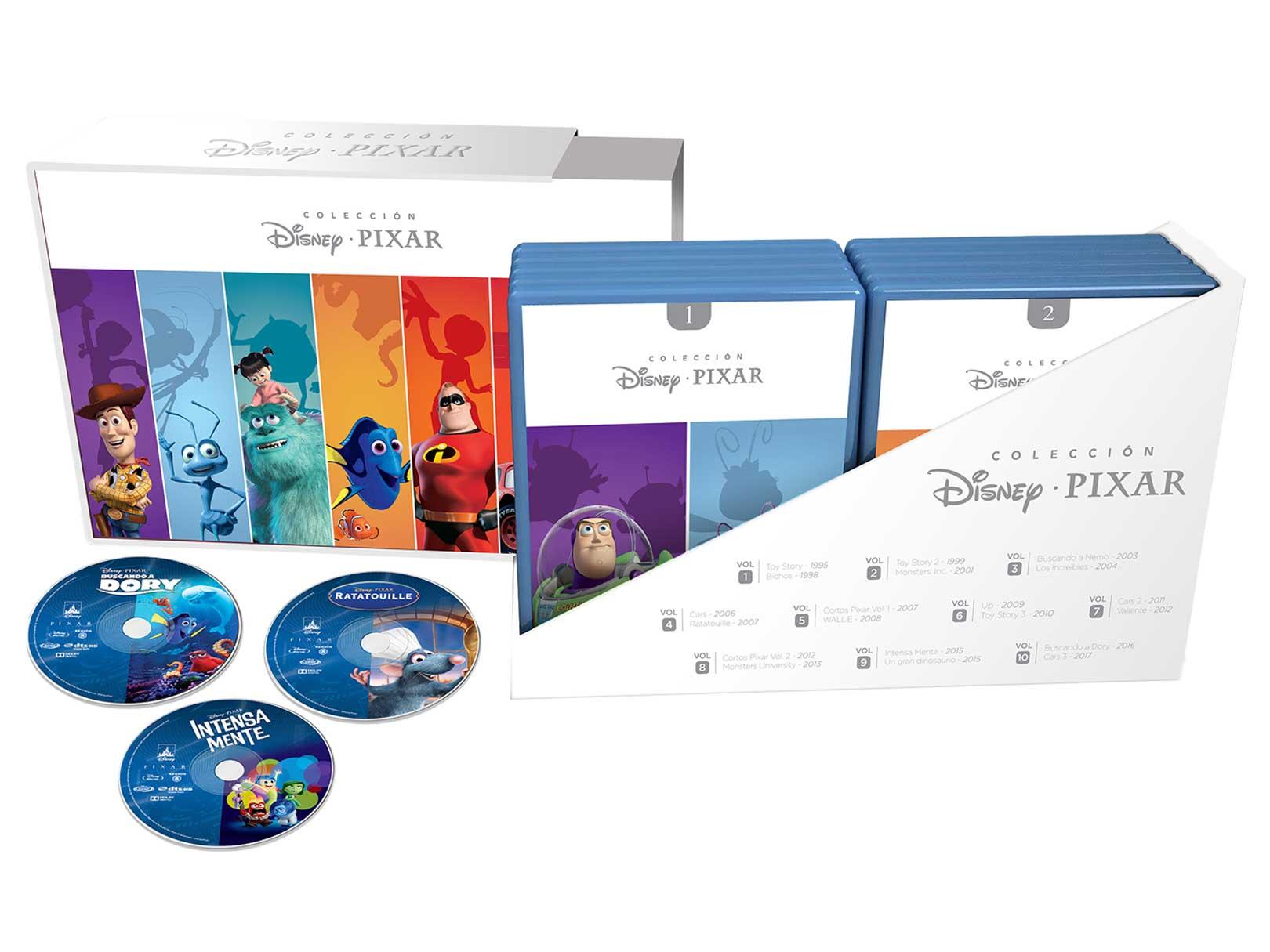Liverpool Prime Day: Set de Películas Colección Disney Pixar Blu-Ray