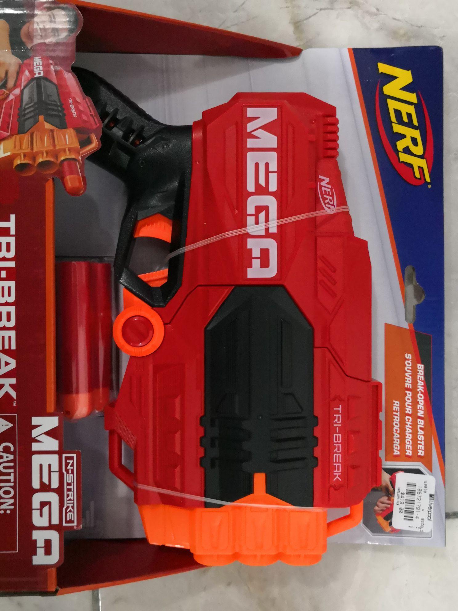 Liverpool Mérida pistola Nerf Tri-break
