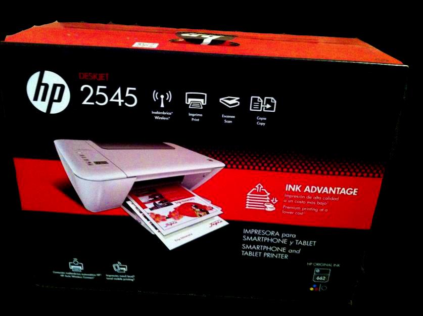 Walmart: Multifuncional HP 2545 WiFi a $699 en tienda física, antes $999