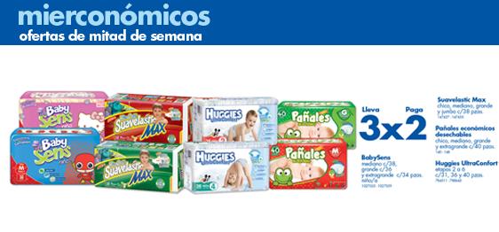 Farmacias Benavides: 3x2 en pañales, 2x1 Crest Complete, 3x2 Duracell y Maruchan