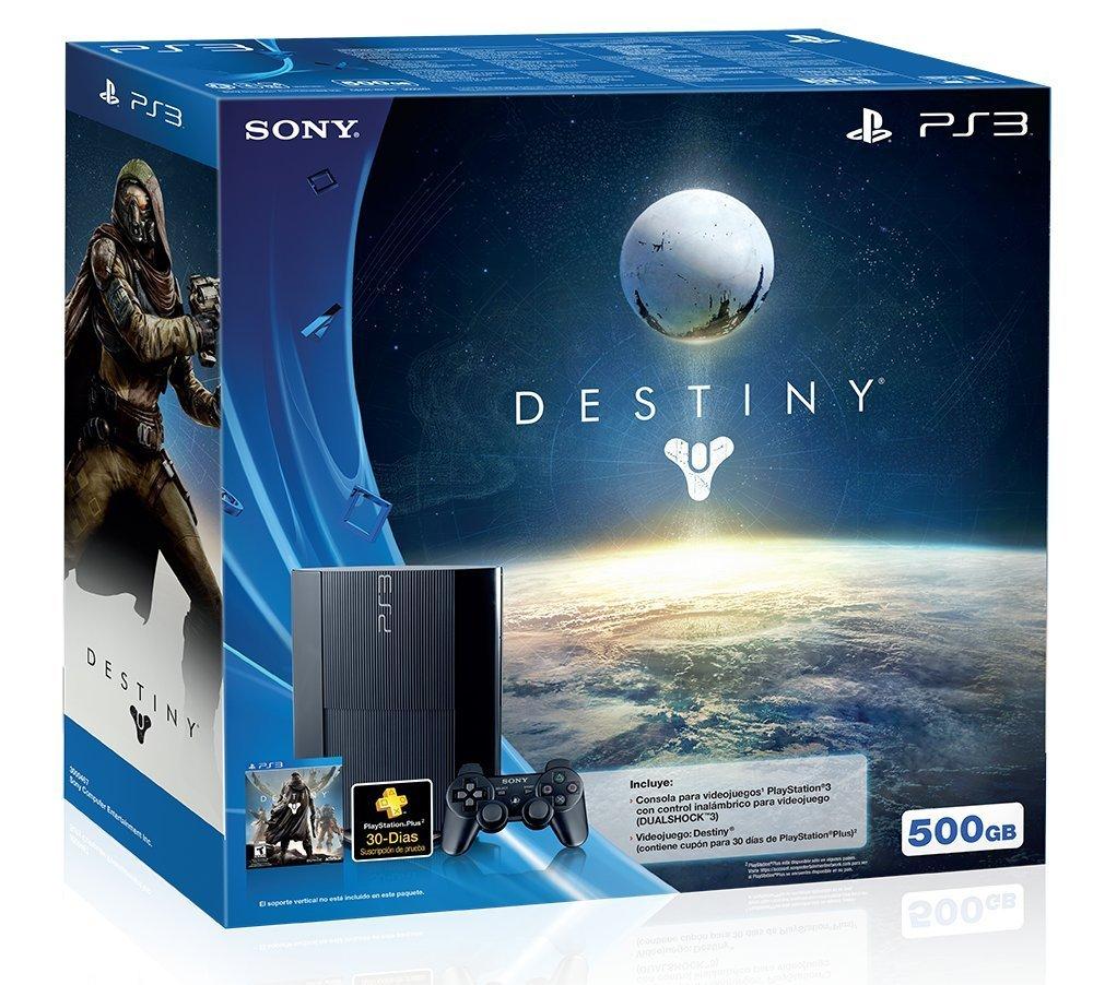 Amazon: Consola Playstation 3 Versión Destiny - Bundle Limited Edition $3,849