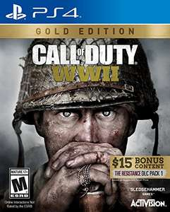 Amazon: Call of Duty WWII GOLD Edition para PS4 / Xbox One