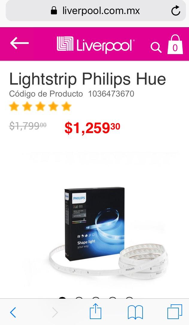 Liverpool: Lightstrip Philips Hue