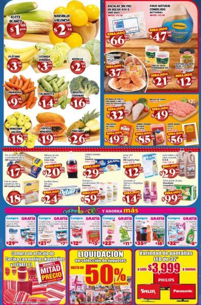 HEB: naranja $2.95, plátano $3.95, liquidación de juguetes y más