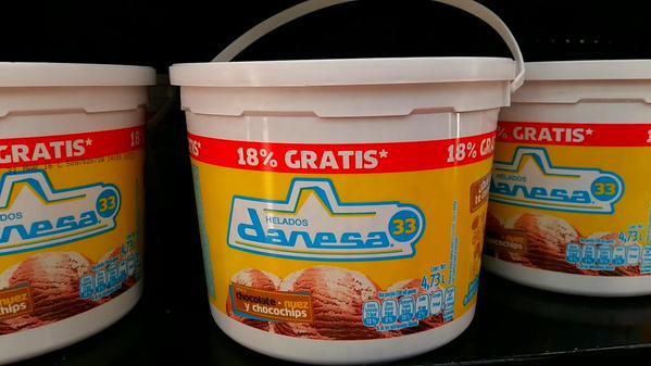 Chedraui: Helado Danesa 33 de Nestle