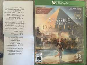 Woolworth: Assasins creed orígenes y Resident evil revelations para Xbox One