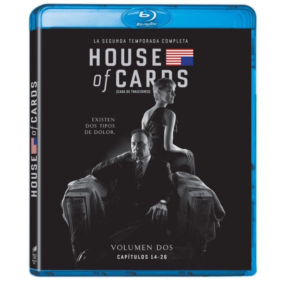 Elektra: House of Cards Temp 2 Blu-ray (4 discos)