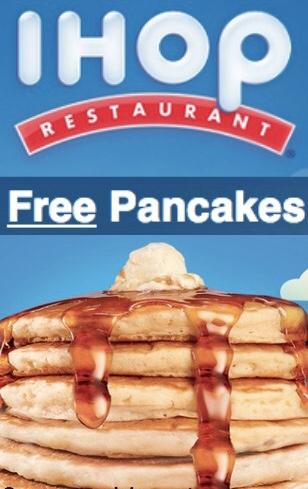 IHop: Pancakes gratis si respondes una encuesta de servicio