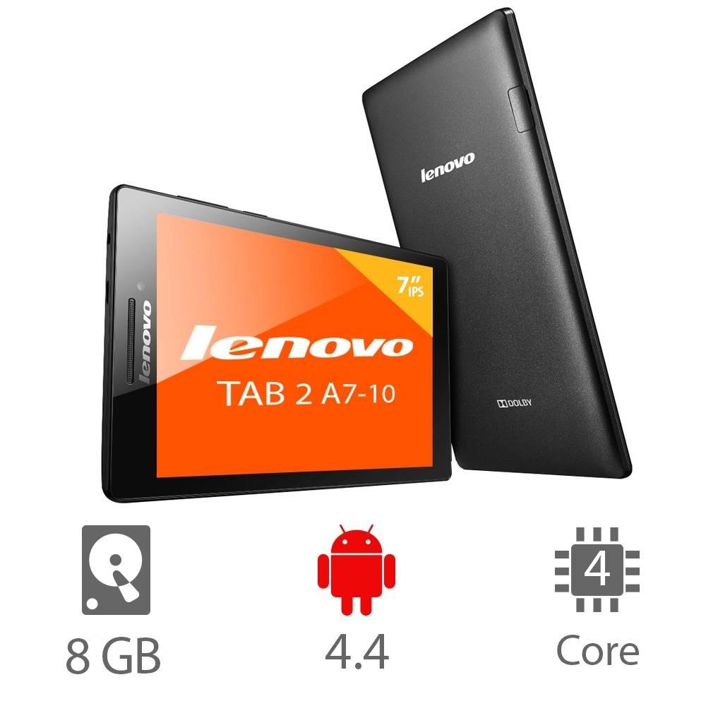 Walmart: Tableta Lenovo Tab 2, quad core 1gb/8gb interno