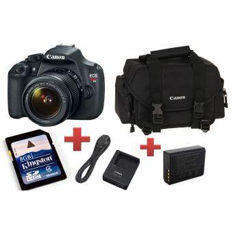 Linio: kit cámara Canon EOS REBEL T5 $5,999, 12 MSI y $450 de bonificación