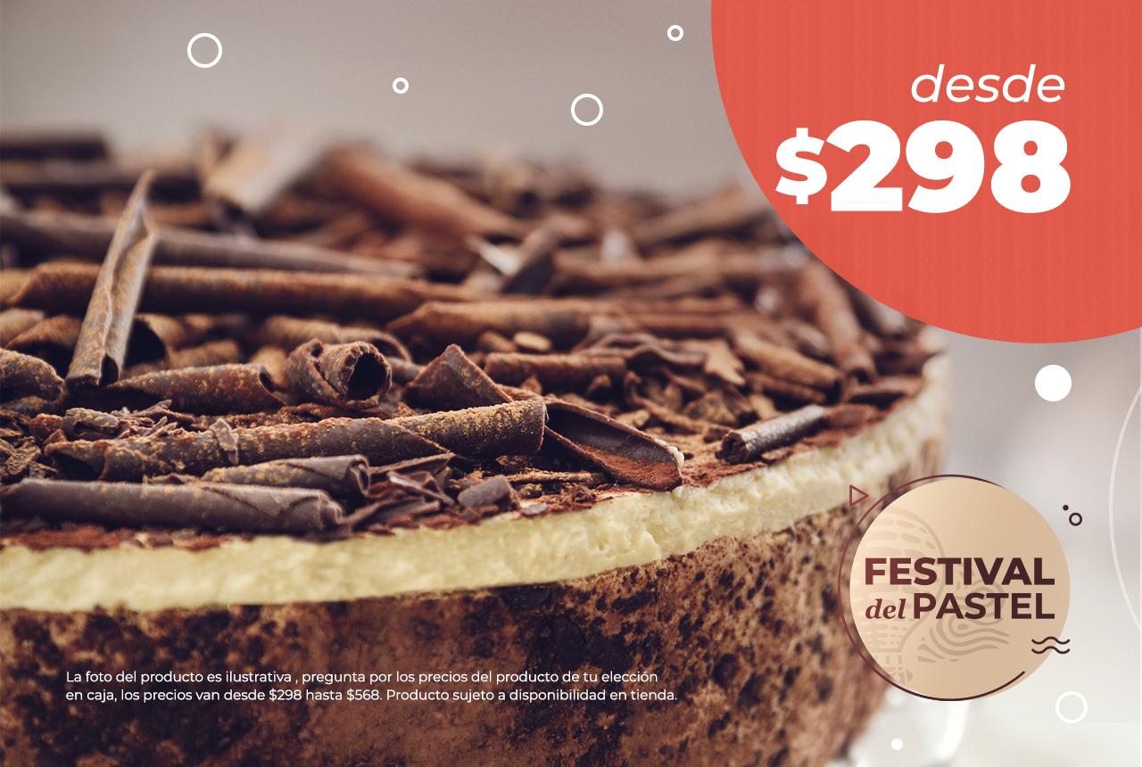 El Globo: Festival del pastel desde $298 para 18 personas