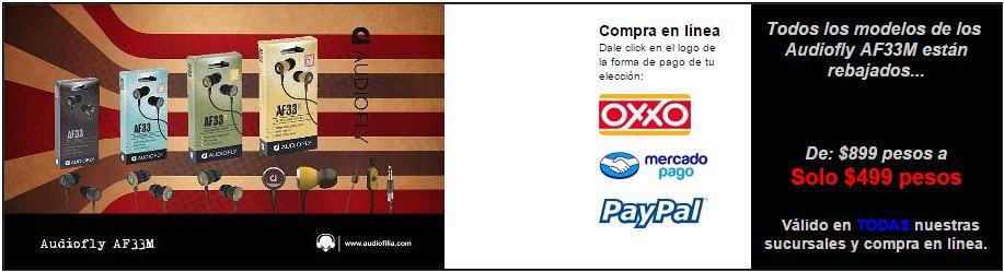 audiofilia.com: Audiofly AF33M $499