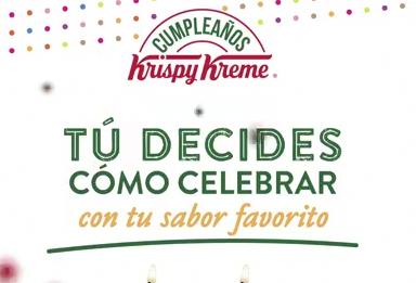 Krispy Kreme Aniversario