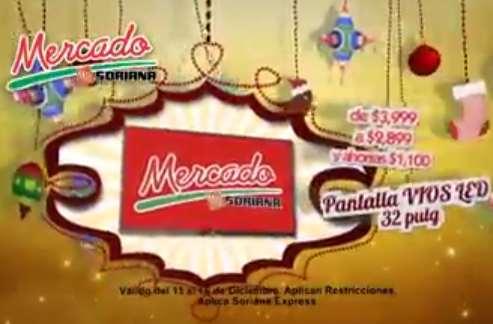 """Mercado Soriana: 3x2 en brassieres, pantalla LED 32"""" $2,899 y más"""