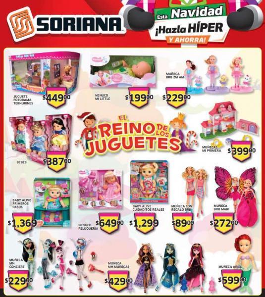 Folleto de ofertas en Soriana del 13 al 19 de diciembre (incluye 50% en películas)