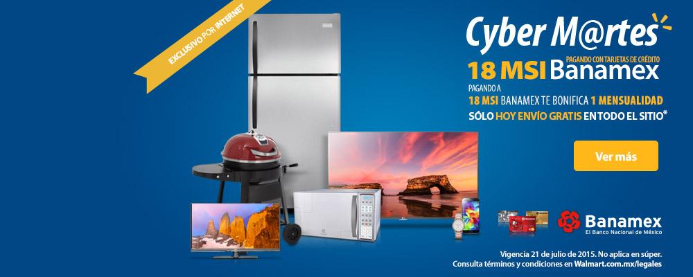 Walmart: Cyber Martes envio gratis en todo el sitio