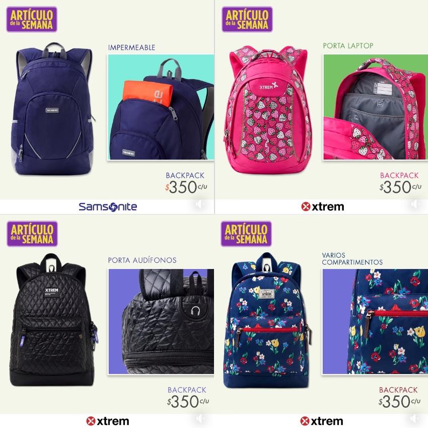 Suburbia: Artículo de la Semana: Backpack Samsonite o Xtrem $350 c/u