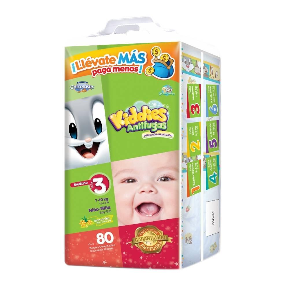 Walmart: Promocion - Pañales Kiddies 80 pzas + Leche NAN 800g $230 o menos