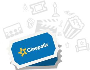 CINEPOLIS entrada gratis de regalo recomendando tarjeta Club Cinépolis