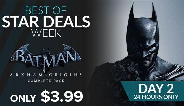 Fanatical: Batman Arkham Origins Complete Pack / Steam