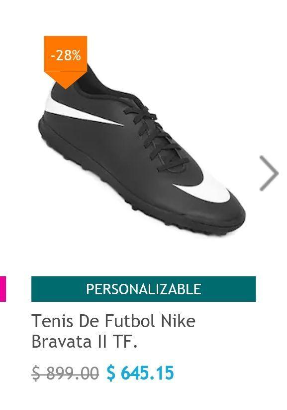Netshoes: Tenis de Fútbol Nike Bravata II y otros
