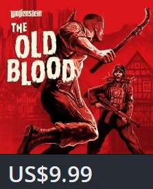 PlayStation Store: Wolfenstein: The Old Blood para PS4 a $9.99 dolares