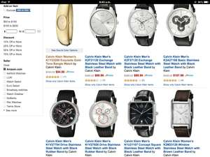 AMAZON Deal of the day: Relojes Calvin Klein