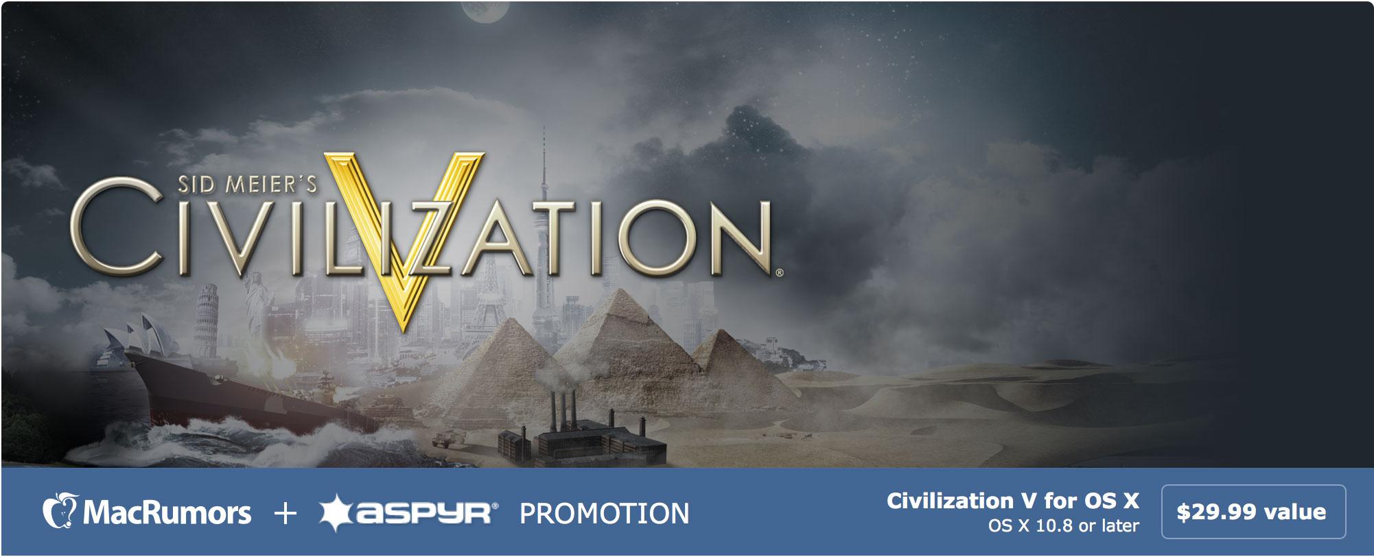 Sid Meier's Civilization V: Campaign Edition para Mac Gratis