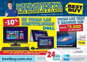Folleto de ofertas en Best Buy del 23 al 29 de julio