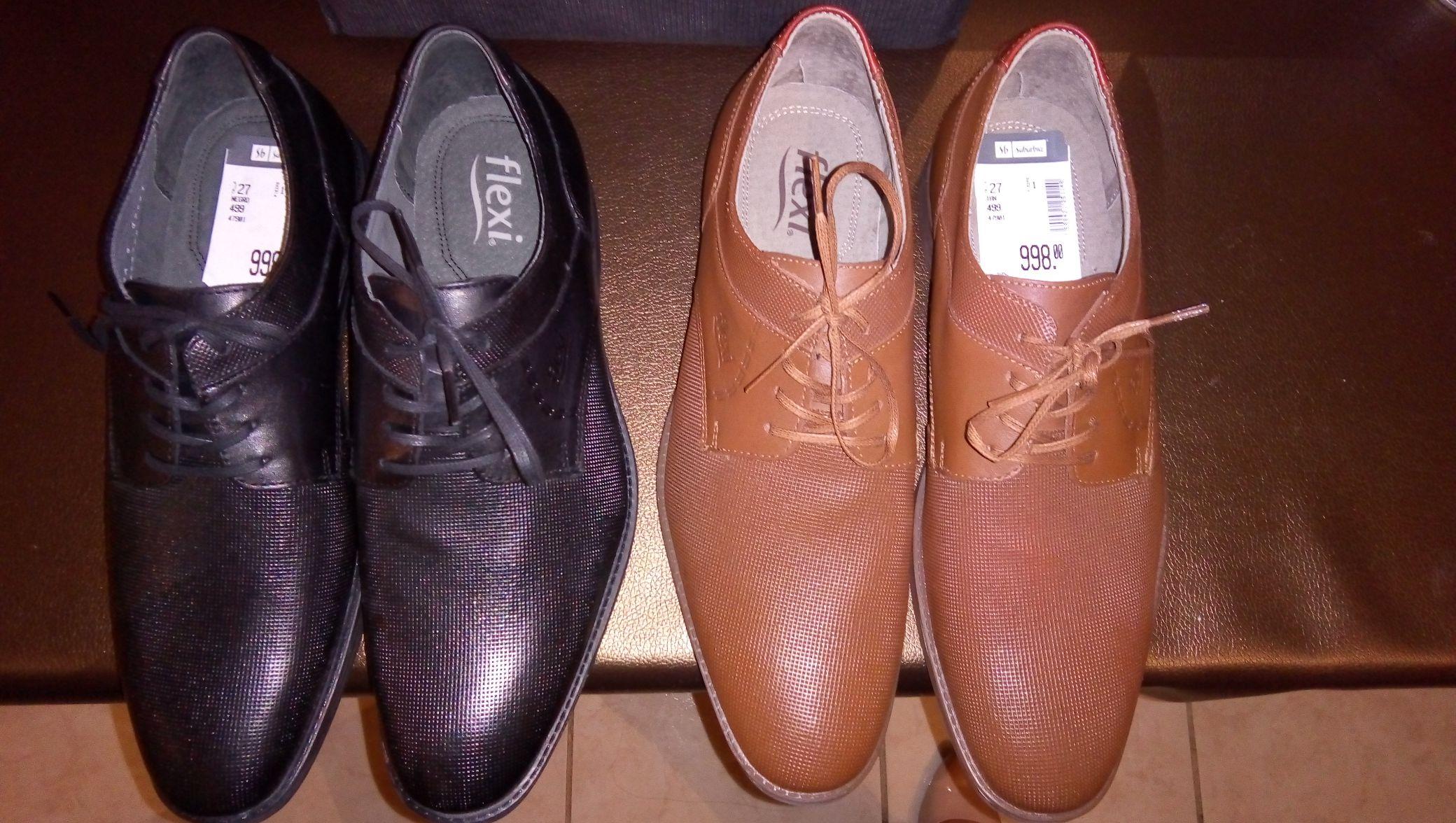 Suburbia: Zapatos de caballero Flexi 70% de descuento.