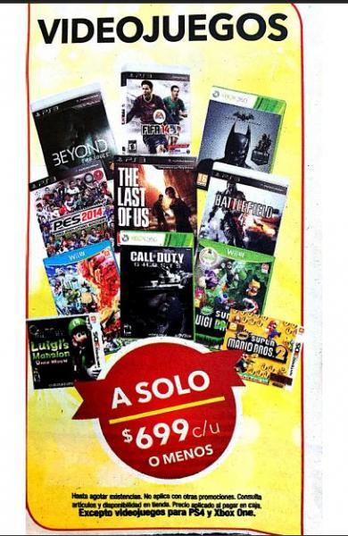 Best Buy: videojuegos a $699 o menos, $100 en cupones por cada $1,000 y más