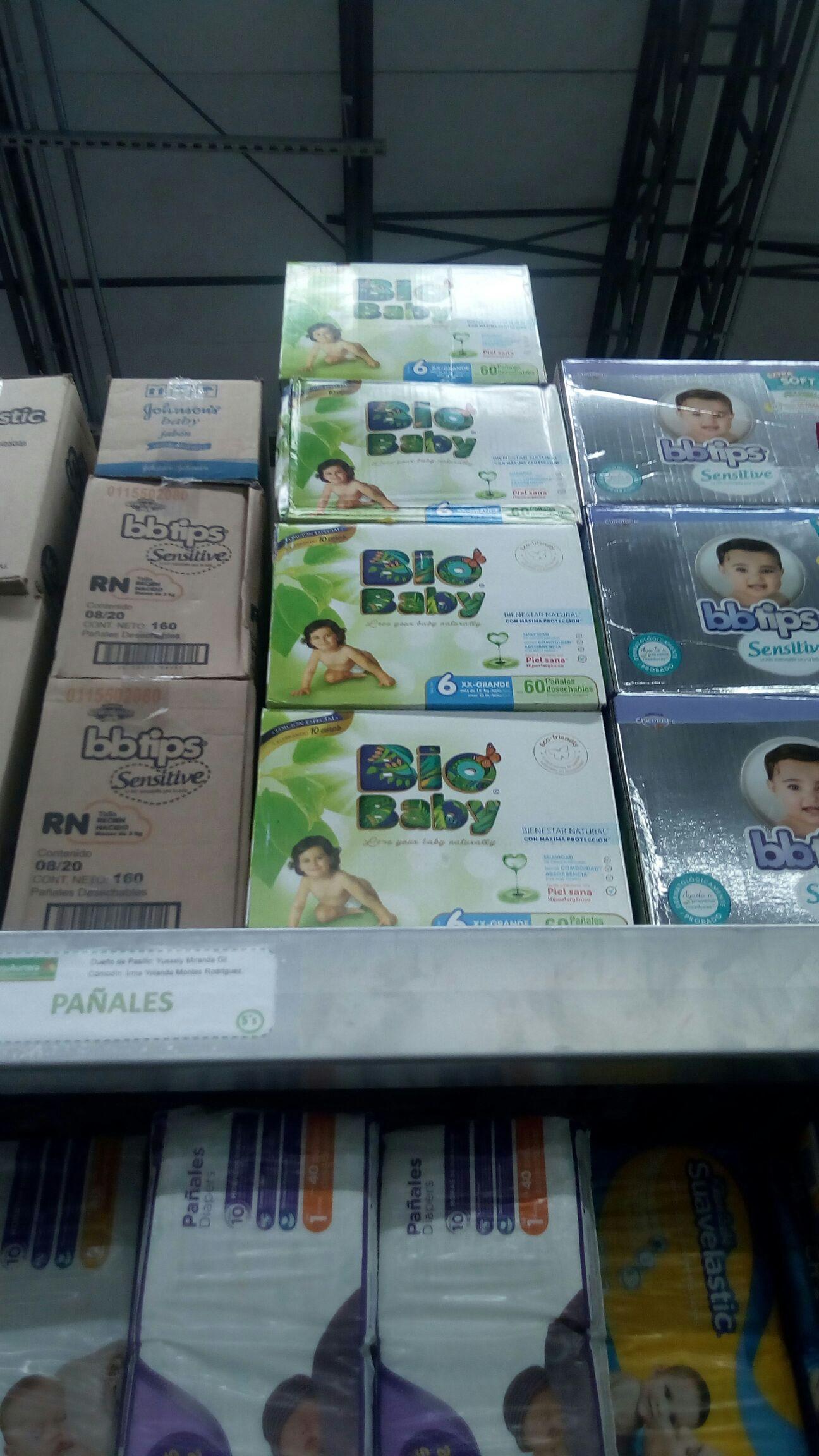Bodega Aurrerá: Liquidación pañales Bio Baby etapa 4, 5 y 6 con 60 y 64 pzs