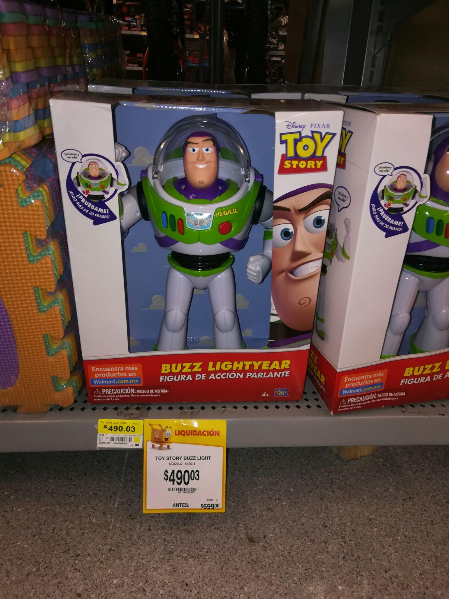 Juguete Buzz Lightyear Walmart Uptown Mérida