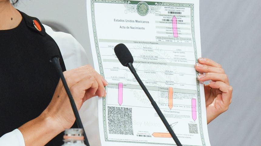 Actas de nacimiento serán gratuitas por regreso a clases (CDMX)