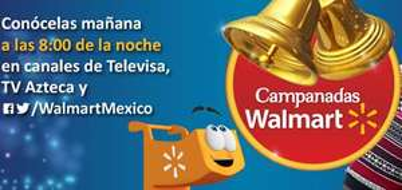 """Campanadas Walmart en tiendas: pantalla LED 32"""" $3,390, Smart TV 40"""" $6,990 y +"""