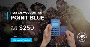 Mercado Pago: Lector de tarjetas  Point Blue a solo $250