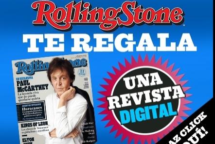 Rolling Stone México: revista digital completamente !GRATIS!