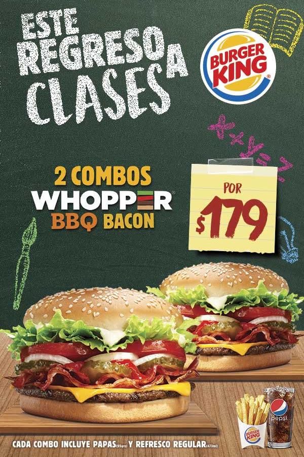 Burger King: Recibe el 50% de tu consumo en puntos WOW