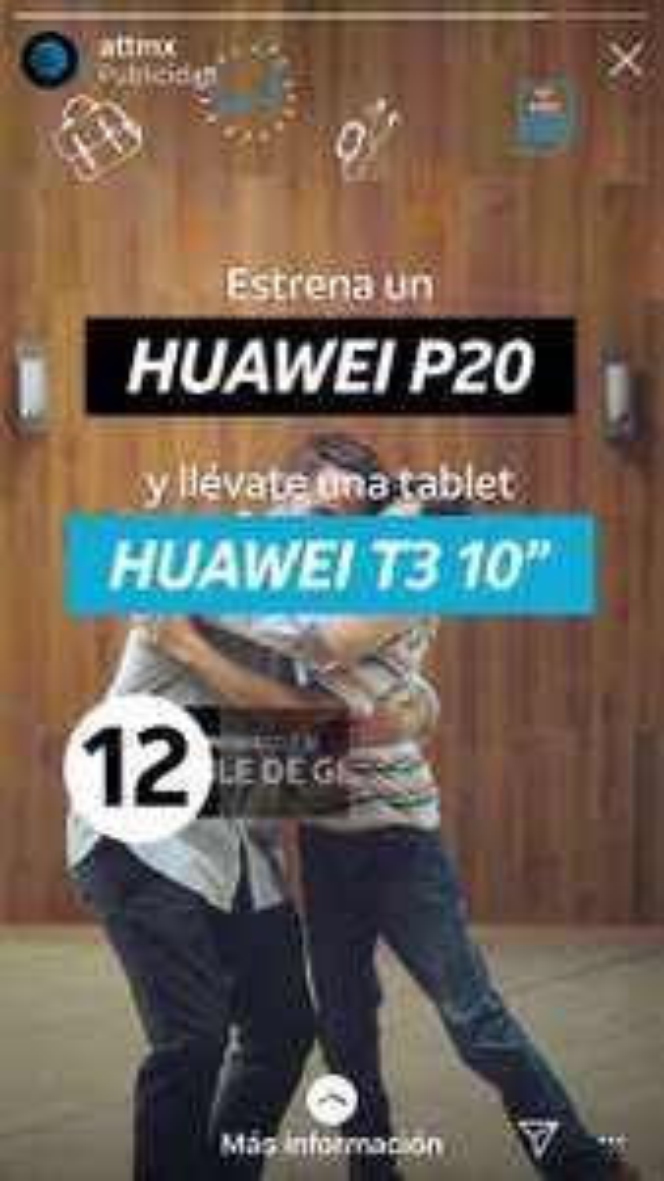 AT&T: En la compra de un Huawei p20 te regalan una tablet