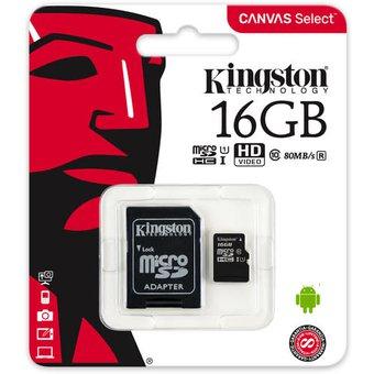 LINIO: -SOLO APP- MEMORIAS MICRO SD KINGSTON - ADATA CLASE 10 16GB - 32GB DESDE $89