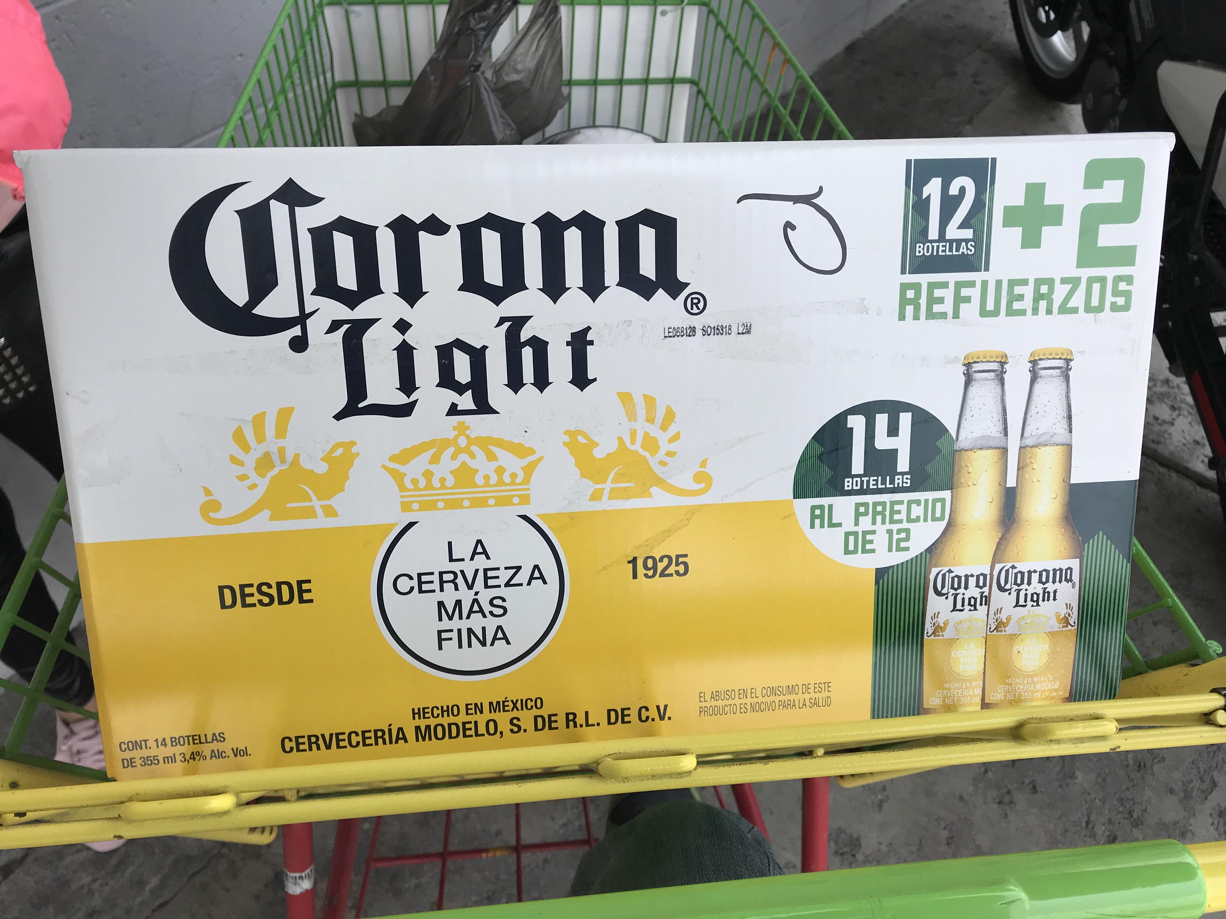 Bodega Aurrerá: 14 cervezas corona