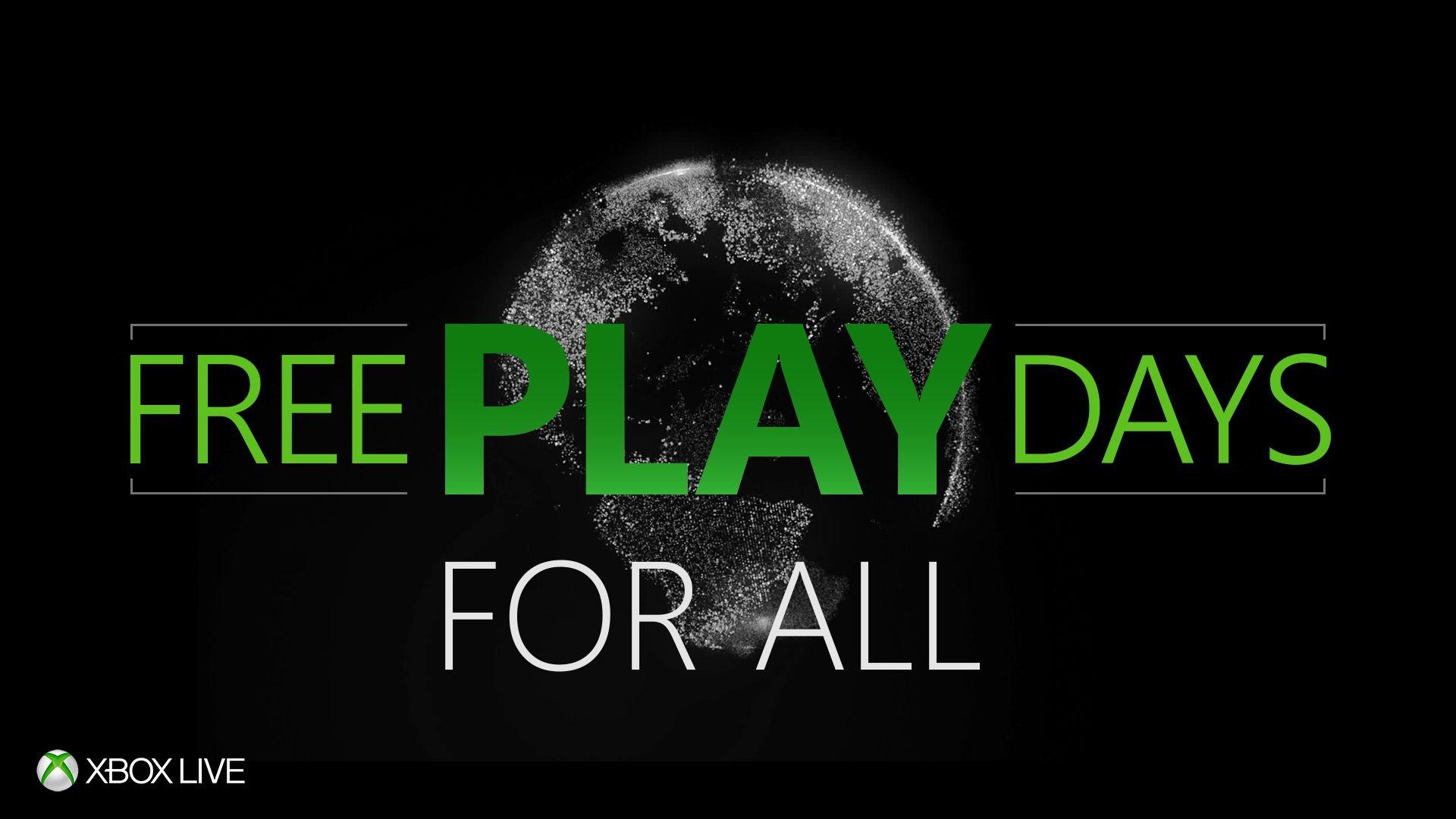 Xbox: Días de juego gratis