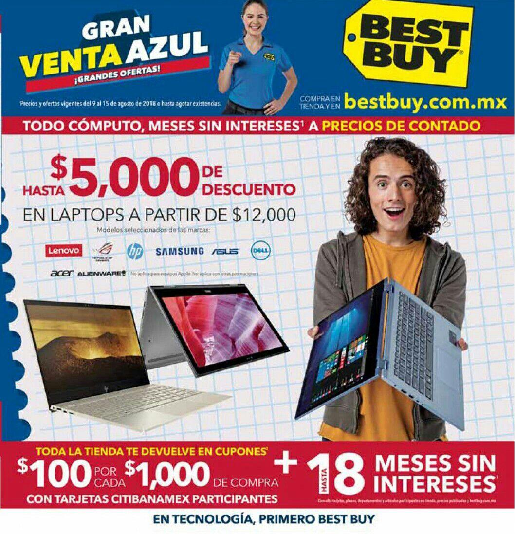 Best Buy: Gran Venta Azul del 9 al 15 Agosto