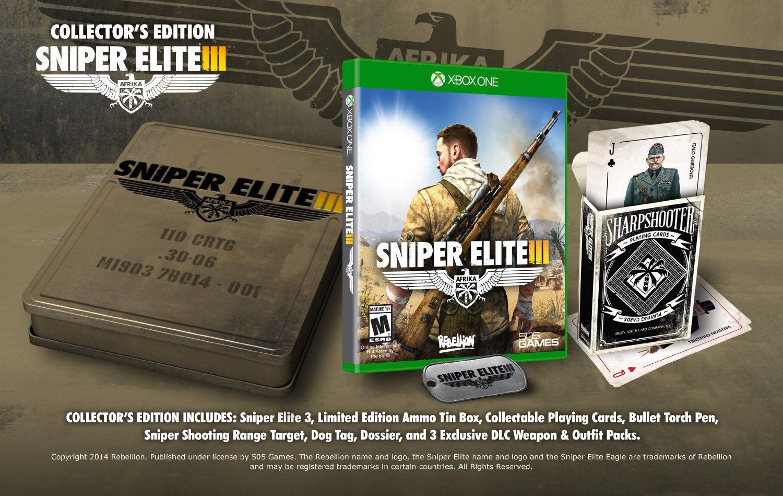 AMAZON: Sniper Elite III Xbox One Collector's Edition $491