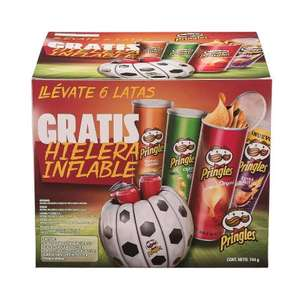 Sam's Club: Pringles Hielera Inflable 744 g