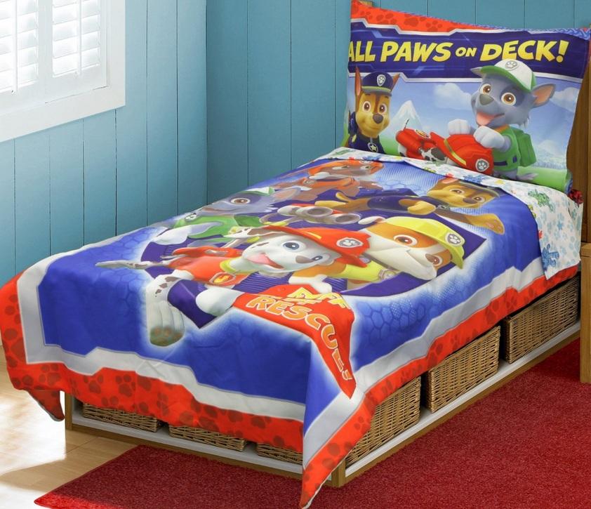 Amazon: Paw Patrol Ropa de cama infantil $587.50 pesos
