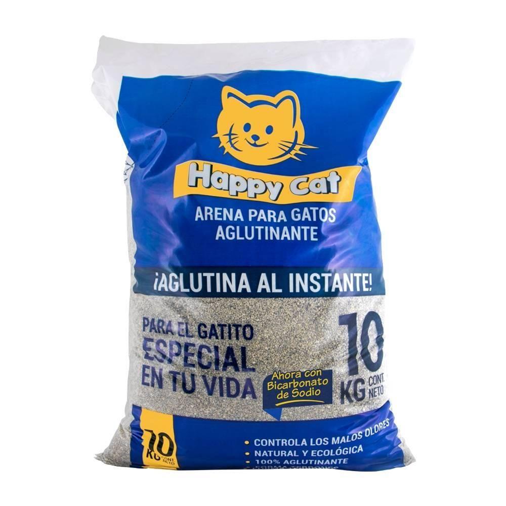 Walmart: 10 kg Arena para gato Happy Cat $59