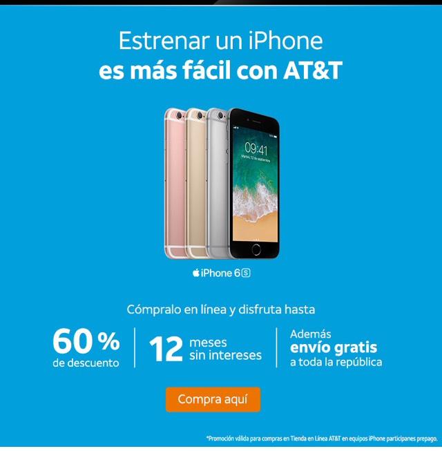 At&t:  iPhone's hasta con un 60% de descuento