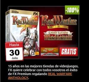 Real Warfare Anthology ¡Gratis!