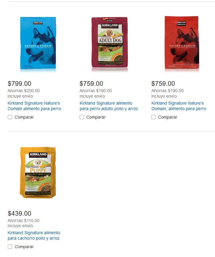 Costco: Descuento de $190 en Alimento Kirkland 18.1 kg  para perro adulto pollo y arroz